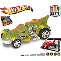 Ks Kids Hot Wheels Coches con luz ,Sonidos y movimento Fighters T-Rextroyer