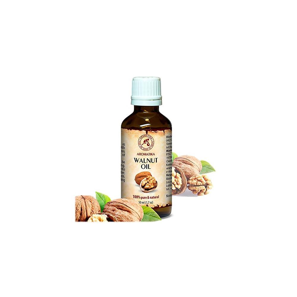 Walnussl 50ml Juglans Regia Seed Oil Usa 100 Naturlich Reines Walnul Basisl Kaltgepresst Raffiniert Pflege Fr Gesicht Krper Massage