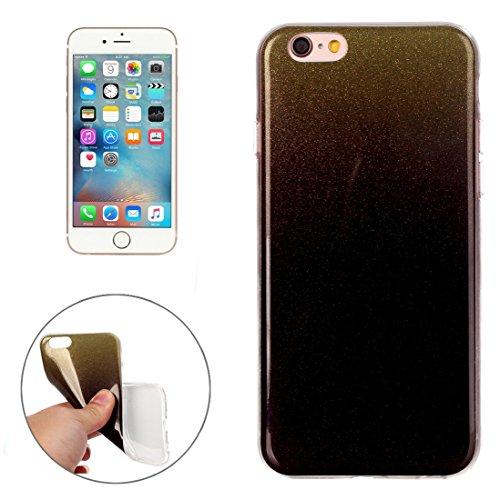Wkae Case Cover Für iPhone 6 &6s IMD Farbe Fades Glitter Puder TPU-Schutzhülle ( SKU : IP6G8686S ) IP6G8686C