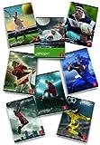 Pigna Sport Emotions bloc-notes 36 feuilles Multicolore A4 - Blocs-notes (36 feuilles, Multicolore, A4, 100 g/m², 210 mm, 297 mm)