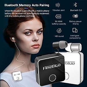 earlyad Für FineBlue F1 Wireless Bluetooth Headset
