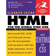 HTML for the World Wide Web, Fifth Student Edition, with XHTML and CSS by Elizabeth Castro (2003-02-28)
