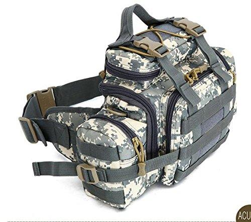 Zll/Armee Fan Outdoor Tasche Tactical Brust Tasche Taille Tasche Messenger Bag Herren 3P Magic Kamera Tasche mit Riding Big Taschen acu