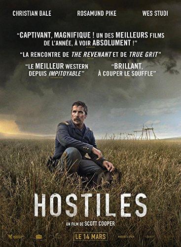 Hostiles : film DVD