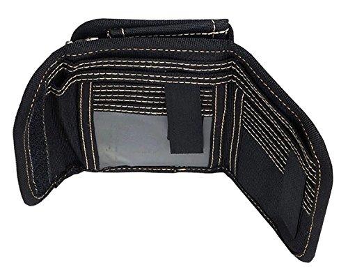 QISHI YUHUA JML da uomo Sport e tempo libero 3Fold breve borsa tela Portafogli Grey Taglia unica Khaki