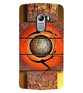 ColourCraft Abstract Image Design Back Case Cover for LENOVO VIBE X3 LITE