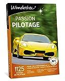 Wonderbox – Coffret cadeau homme PASSION PILOTAGE – 1125 stages de pilotage Ferrari, Lamborghini, Porsche, rallye, karting, drift moto pour 1 à 3 personnes