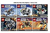 LEGO Star Wars Microfighters Series 3 Complete Set of 6 by LEGO