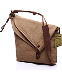 d3f5df9d59e WalkingToSky Unisex Crossbody Bags, New Classy Casual Canvas Bags Simple  style Messenger Shouder Handbag Cross Body Hobo…