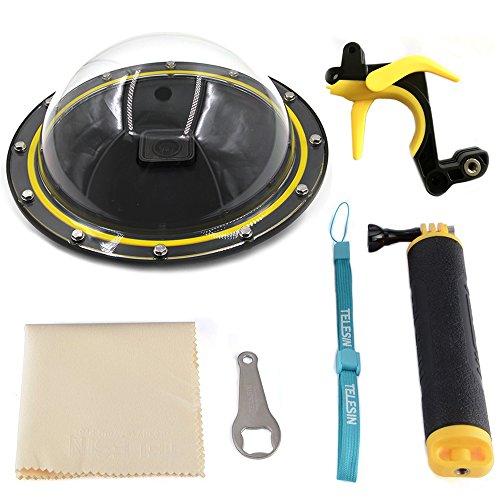 15,2 cm Dome Port Diving Lens für Wasser Fotografie, Unterwasser-Kamera Case + Pistole Trigger + floaty Griff Grip, Tauch-Objektiv für Wasser-Fotografie (für den GoPro Hero 5)