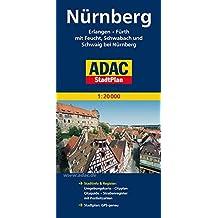 ADAC StadtPlan Nürnberg, Erlangen, Fürth mit Feucht, Schwabach und Schweig bei: Nürnberg 1:20 000 (ADAC Stadtpläne)
