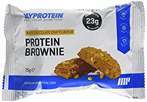 My Protein Barre Protéine Saveur White Chocolate Brownie 12 x 75 g
