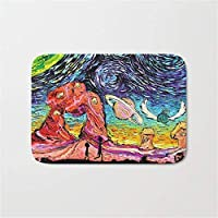 "Yuerb Felpudos Rick Morty Starry Night Bath Mat Doormat 23.6""x 15.7"" Inch"