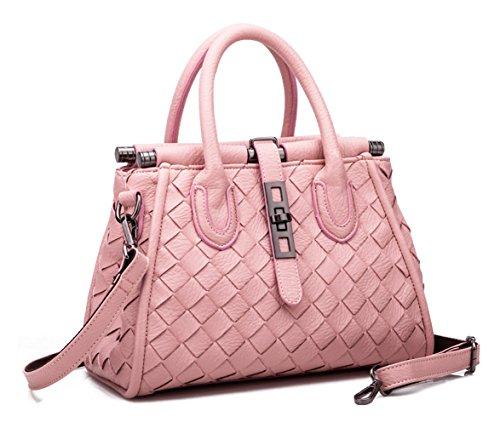 Keshi Pu Niedlich Damen Handtaschen, Hobo-Bags, Schultertaschen, Beutel, Beuteltaschen, Trend-Bags, Velours, Veloursleder, Wildleder, Tasche Pink