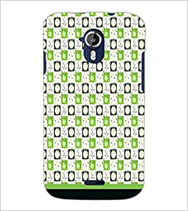PrintDhaba Pattern D-1894 Back Case Cover for MICROMAX A116 CANVAS HD (Multi-Coloured)