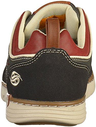 Dockers by Gerli Herren 42is001-777100 Sneaker Schwarz (Schwarz 100)