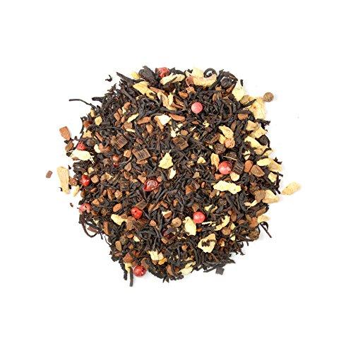 alveus® Soul of Sri Lanka ORGANIC: Lose Teemischung mit Schwarzem Tee, Zimtstange, Ingwer, schwarzem Pfeffer, rosa Pfeffer, natürliches Aroma, Kardamom, Muskat, Bourbon Vanille, 100g Tüte
