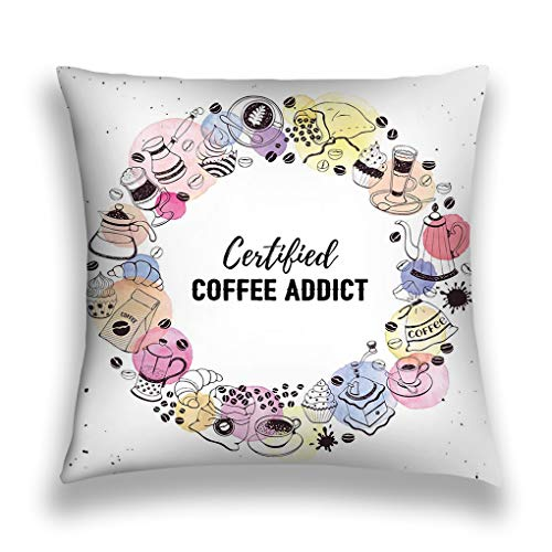 zexuandiy Throw Pillow Cushion Cover, 18