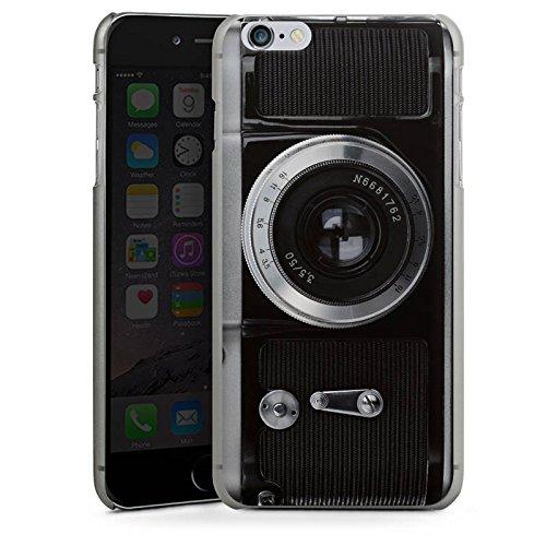 Apple iPhone X Silikon Hülle Case Schutzhülle Kamera Fotografie Objektiv Hard Case anthrazit-klar