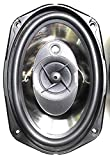 """FREDO Oval 6""""x9"""" Car 3Way Speaker Set. 450W Indian Made Deluxe.(Metal Coated)"""