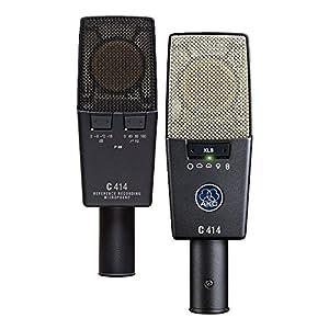 AKG C414X LS/ST–C-414XLS/ST microfono Studio Kit 2microfoni + valigetta Alluminio