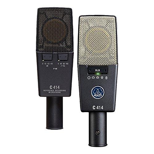 Akg C414XLS/ST - C-414 xls/st microfono estudio kit 2 micros + maleta aluminio