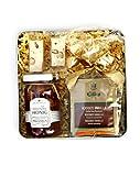 NOUGAT Geschenkdose mit Deluxe Tee, türkischem Nougat und Honig