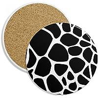 DIYthinker Jirafa Arte Animal del Grano del patrón de la ilustración de Piedra cerámica Beber Cerveza
