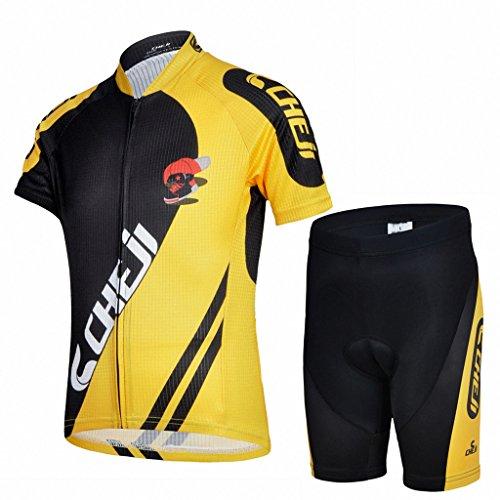 Ateid Maillot de Cyclisme Manches Courtes et Cuissard...