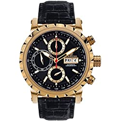 Mathis Montabon MM-25 Le Chronographe gold noire