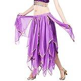 YuanDian Danse Du Ventre Jupe De Balançoire Jupe Costume Rétro Tribale Fente longue Jupe Robe De Danse Belly Dance