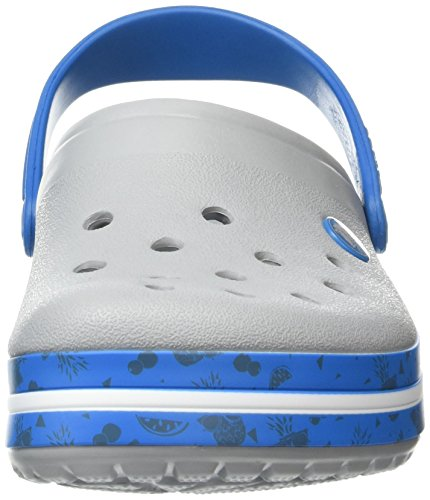 Crocs - Cbfruitclg, Zoccoli Unisex – Adulto Grigio (Light Grey)