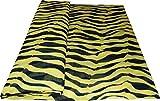 Mamadu Gelb schwarz gestreifter Jersey (100% Viskose),