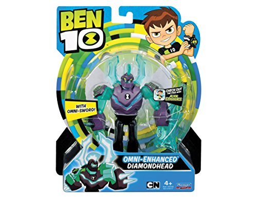 Ben 10 Action Figures, Diamond Enhanced