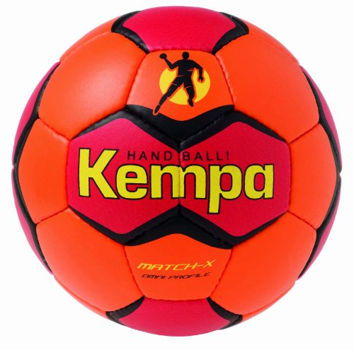 Kempa Match X Omni Profile, Shockred/Rot/Fluo Gelb, 2, 200185402 Image
