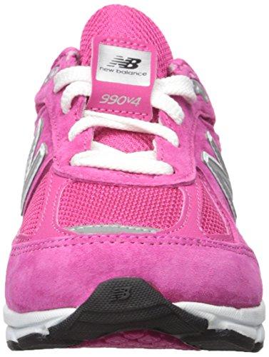 New Balance KJ990V4 Pre Running Shoe (Little Kid) Pink/Pink