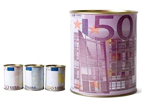 Hucha Metal Euro Diámetro 10cm Altura 12cm Surtido