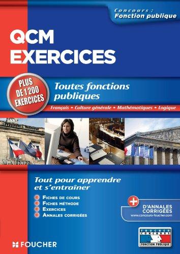 QCM et exercices toutes fonctions publiq...