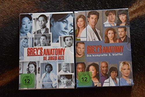 Grey's Anatomy: Die jungen Ärzte - Die komplette 2. + 3. Staffel [15-Disc / 2-Boxen] (Greys Anatomy Staffel 2 Und 3)