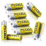 Pile Ricaricabili 1.2 V NiMH AA 1300 mAh batteria (8 pezzi)