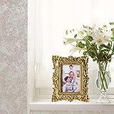 Giftgarden Bilderrahmen 10x15cm Barock golden viereckig golden Geschenke Freunde - 3
