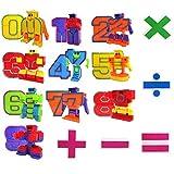 Mymiyou Número de Robots figura de acción regalo de juguete para los niños educación de la...