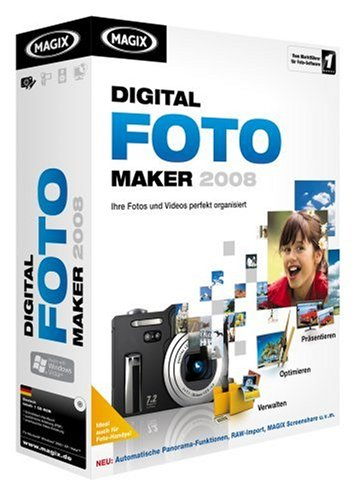 MAGIX Digital Foto Maker 2008 (Foto-maker)