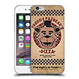 Head Case Designs Offizielle Five Nights at Freddys Freddy Freddy Fazbears Pizza Soft Gel Hülle für iPhone 6/iPhone 6s