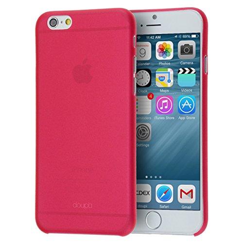 doupi D5-H057-J - Funda protectora ultradelgada para iPhone 6 6s 4,7