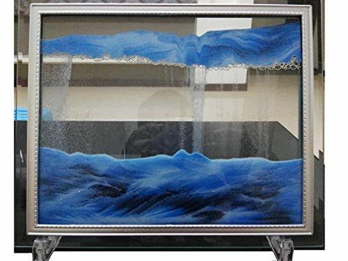 yayacat Dynamische Sand Bild Medium (22x 17,5cm blau)