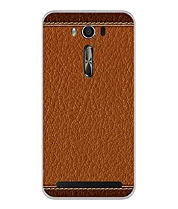 Fuson Designer Back Case Cover for Asus Zenfone 2 Laser ZE550KL (5.5 Inches) (Fabric Designer Young Corporate Person Standard)
