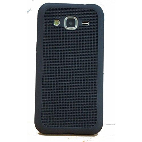 Avzax Soft Silicone Grid Design Back Case Cover For Samsung Galaxy Core Prime G360