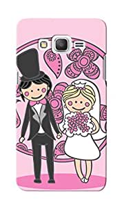 CimaCase Wedding Couple Designer 3D Printed Case Cover For Samsung Galaxy J3 2016