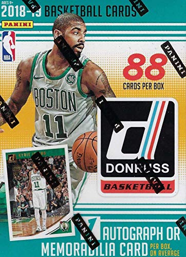 a99a9609b 2018 2019 Donruss NBA Basketball Box with One AUTOGRAPH or MEMORABILIA Card  Per Unopened Blaster Box